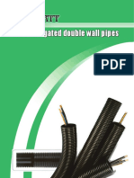 Corrugated Double Wall Cable Protection Pipe