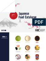 Japanese Food Catalogue