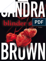 Blinder Stolz_ Thriller (German - Brown, Sandra