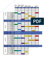 Assessment Writers Schedule