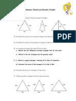 6.3 Pythagoras' Theorem and Isosceles Triangles