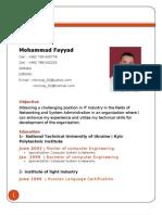 M.Fayyads CV