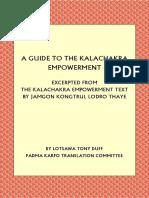 A guide to Kalachakra Empowerment, Lotsawa Tony Duff
