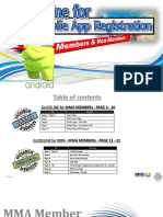 Android MMAMobile Application UserGuide