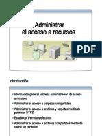 14.- Administrar El Acceso a Recursos