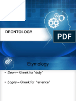 6. Deontology