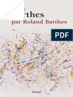 Barthes [Roland] - Roland Barthes Par Roland Barthes