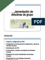 17.- Implementacion de Directivas de Grupo
