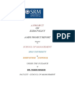 Project Report on IMPORT-EXPORT Policy