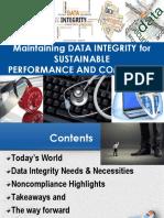 Data Integrity - May 18