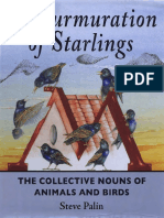 Palin, Steve - A Murmuration of Starlings _ the Collective Nouns of Animals and Birds