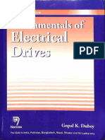 Fundamentals of Electrical Drives (2001) ( gk dubey ) Gopal K. Dubey