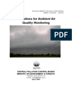 2003 CPCB Guidelines for Air Monitoring