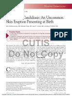 Cutaneous Candidiasis Treatment & Management