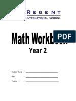 y2 Math Abacus Math Workbook Year 2