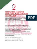 Preguntas Comunes Ope 2014-2015-2016