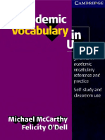 Page 1 CAMBRIDGE Academic Vocabulary in Use 50 Units of Academic Vocabulary Reference and ...-Pages-1-20