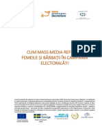 CPD_Cum Reflecta Mass-media Femeile Si Barbatii in Campania Electorala