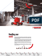 Manitou Electric Aerial Work Platforms - Brochure Range - (IT)