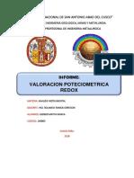 Valoracion Poteciometrica Redox Gerber