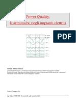 PowerQuality e Armoniche - Comuzzi - 2006