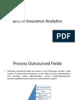 BPO in Insurance Analytics