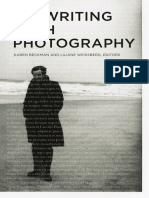 On Writing with photography -