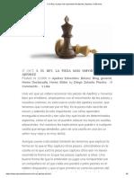 3. El Rey, La Pieza Más Importante Del Ajedrez _ Ajedrez a La Escuela