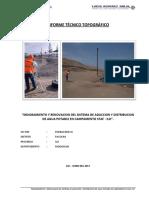 Estudio Topografico STAFF-ILO