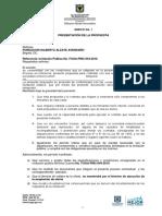 Anexo 1 Carta de Presentaci%c3%93n de La Oferta