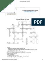 crossword puzzle maker  final puzzle 2