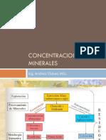 Concnetracion de Minerales