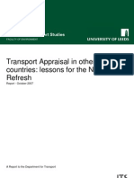 Transport Appraisal in other countries