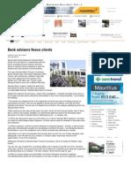 Bank Advisers Fleece Clients - News - IOL _ Breaking News _ South Africa News _ World News _ Sport _ Business _ Entertainment _000000000000557