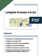 34.- Configurar el acceso a la red