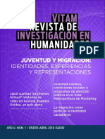 Vitam Revista de Investigación en Humanidades