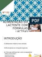 Aula 8 - Fórmulas Infantis