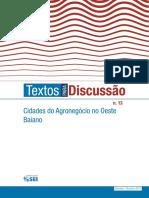 Texto Para Discussao 13 Cidades-Agronegocio Rev04!15!02-18