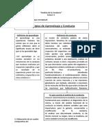 Análisis de la Conducta - Para exámen