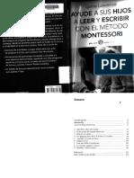 Lawrence, L. - Ayude a sus hijos a leer y escribir con el Método Montessori.pdf