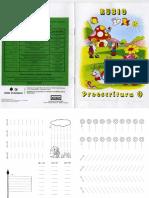 Imprimido 0 Caligrafia Números Rubio, Cuadernos[1]