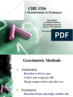201 l 4 Gravimetric Analysis