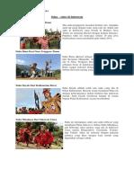 Suku di Indonesia dan Pahlawan beserta asalnya