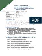 0 Curso Ingeniería de Fundaciones 2016-02 Rafael Prieto