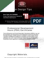 Taylor VAV Design Tips