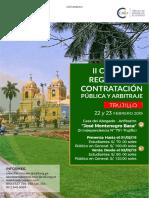 II Congreso Regional de Arbitraje Trujillo