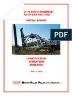 Construction Vibration Report