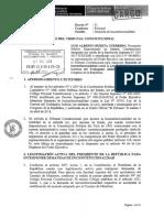 Demanda presentada por la Procuraduría Pública Especializada en Materia Constitucional.