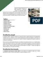 Destilación - Wikipedia