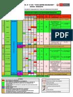 Calendarizacion Organizacion Del Tiempo en La i.e. 31301 - 2019 Original